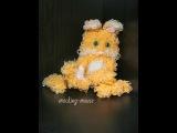 Кот Персик из резиночек от mocking mouse Часть 1 уши