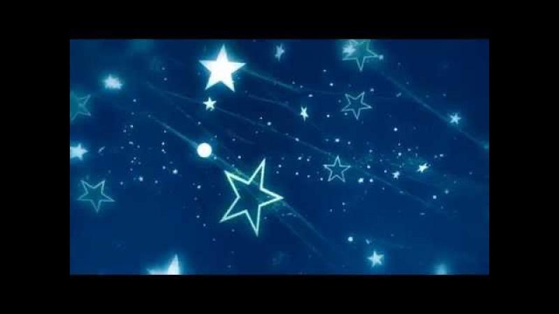 звездное небо футаж