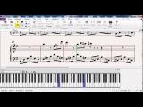 Красивая мелодия на пианино (вариация на тему Эннио Морриконе