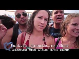 Croatian Summer Salsa Festival promo 2015