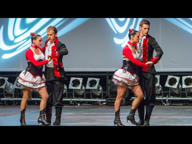 Afro Latin Connection performing their new show at Berlin Salsacongress 2014 !