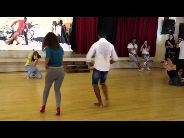 Maykel Fonts E Vanessa Lacedonia stage patner work cuban - Bournemouth(ENGLAND)