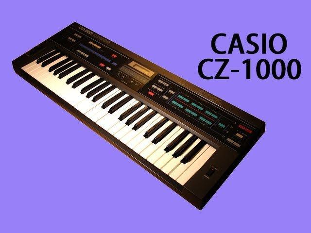 CASIO CZ-1000 Digital Synthesizer 1985   DEMO
