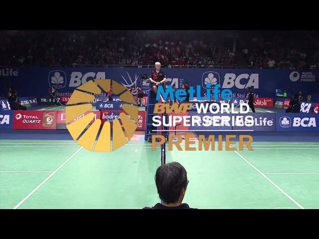 BCA Indonesia Open 2015   Badminton R16 M2-MS   M. Zwiebler vs T. Sugiarto