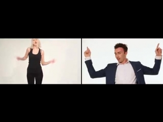 ��� ������� ������� � ����� _How girls and boys dancing