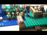 Лего майнкрафт, ферма, 1часть.