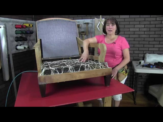 How To Upholster An English Arm Club Chair