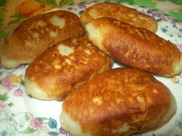 Рецепт приготовления жареных пирожков