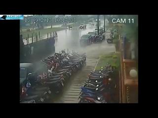 Страйк из скутеров