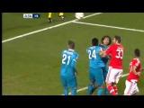 Бенфика - Зенит 1-0 (гол Жонас) 16.02.2016