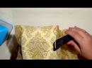 Приклеивание салфетки солевым методом в декупаже.