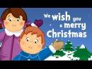 We wish you a merry Christmas (christmas song for kids with lyrics)