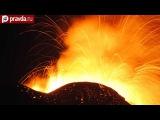 Видео нового извержения вулкана Этна. Сицилия