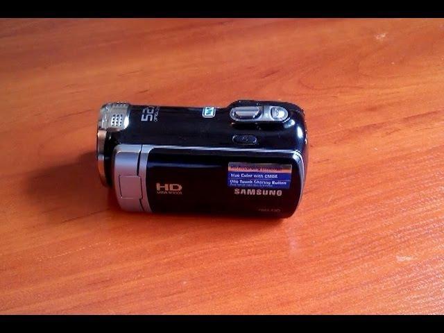 SAMSUNG HMX-F90. Самый честный обзор бюджетной видеокамеры тест ах-го. ZOOM.