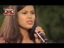 Мишель Андраде - Besame mucho - Х-фактор 4 - 19.10.2013