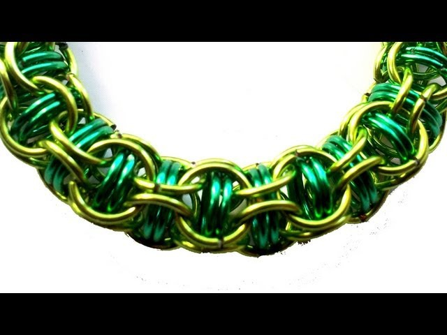 Tutorial Chainmail - Captive Inverted Round Mail Wave