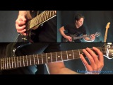 Master of Puppets Guitar Lesson - Metallica - Intro