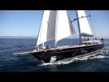 60m Perini Navi sailing yacht PERSEUS3 under sea trials