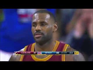 Cleveland Cavaliers vs Detroit Pistons.  November 17, 2015