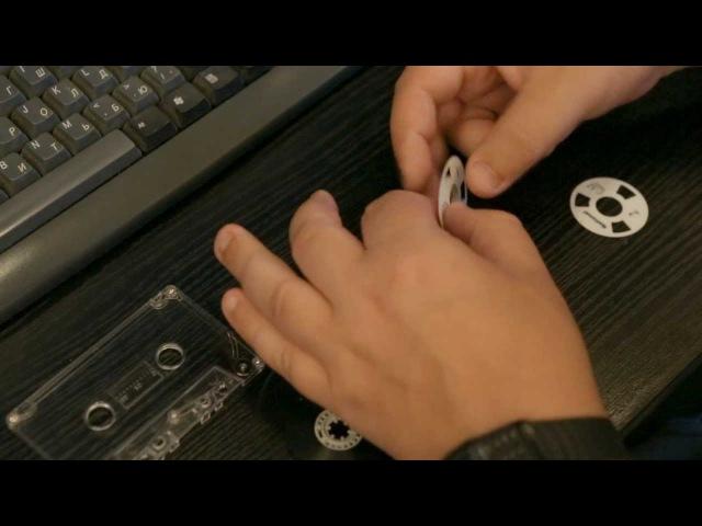Кассеты с катушками своими руками (Reel to Reel cassette hand made)