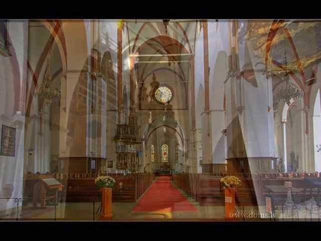 Kalējs - Toccata on the Chorale Allein Gott in der Höh sei Ehr (Riga Dom, author)