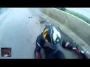 Мотоциклист спас свою девушку после ДТП. Biker Saves Girlfriend During Crash