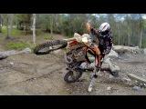 CROSS TRAINING Pivot turns &amp floater turns a dirt bike