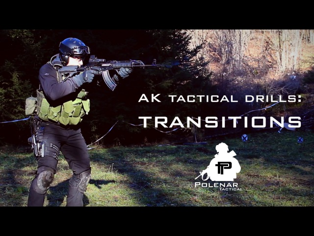 AK Tactical Shooting | Transition to Pistol Drills