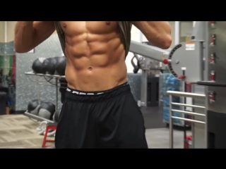 Nic Palladino - (Shoulder Workout, Posing, Gym Prep)