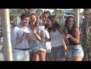 Пикап в Барселоне / Pickup Girls with Russian in Spain
