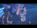 Nick Carter & Sharna Burgess dance the Freestyle