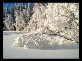 Волшебная музыка зимы. Падал снег Очень красивая музыка!  Falling snow Very beautiful music!