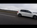 WV Golf 2.0 gti tdi vs Vaz 2105 16V turbo