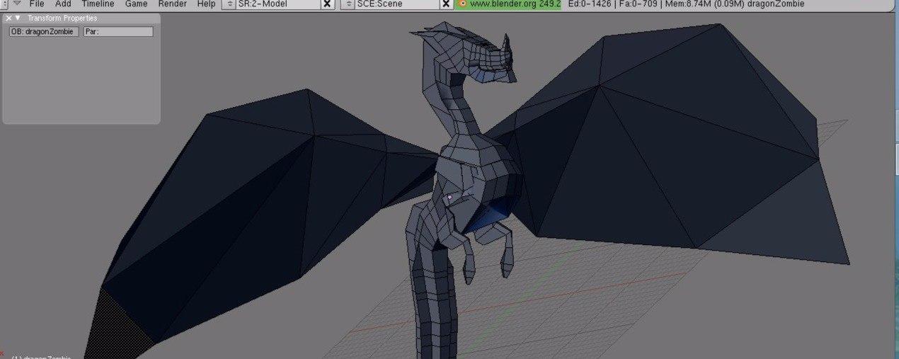 Free Dragon Model! VYVKzBtTato