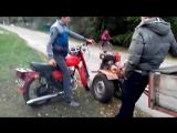 Вихлоп мотоцикла мінск і мотоблока зубр