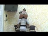 blonde shoulder-riding ponygirl  iv/iv