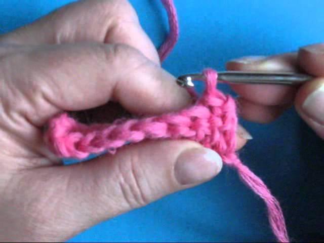 Вязание крючком - Урок 24