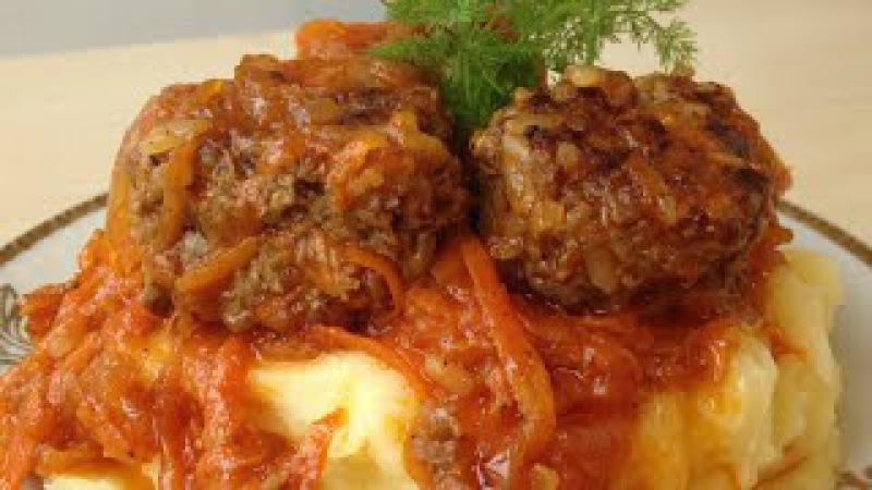 Тефтели, Очень Вкусно и По-Домашнему (Homеmade Meatballs, English Subtitles)
