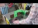 Фрезерный станок 2,устройство подвижных столов