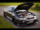 Best Nissan Skyline R33 RB26 engine exhaust sound in the world