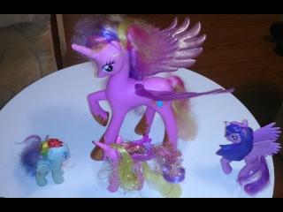 Моя маленькая пони. Принцесса Каденс и Твайлайт Спаркл помогают друг другу.# 1