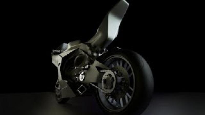 Мотоцикл без бензинового топлива. Работающая модель (not fake).