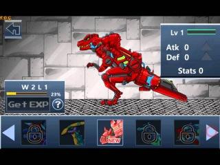 Dino Robot Battle Field (Драки трансформеров роботов динозавров) - прохождение игры