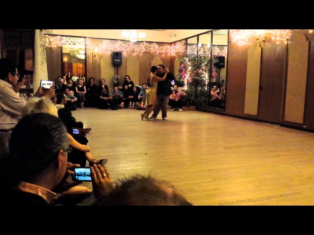 Argentine Tango: Marisol Morales Alejandro Larenas @ Milonga Rosa