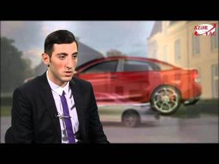 Azərbaycanlı gənc AZERANT adlı avtomobil modelinin dizaynını hazırlayıb