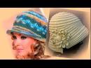 Шляпки с полями крючком Схемы вязания