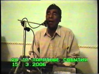 Muhammetmyrat Muhammetgulyýew - Halk aýdymlary [15.03.2006] Janly ses