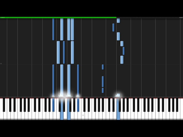 A Cruel Angel's Thesis - Neon Genesis Evangelion OP [Piano Tutorial] (Synthesia)