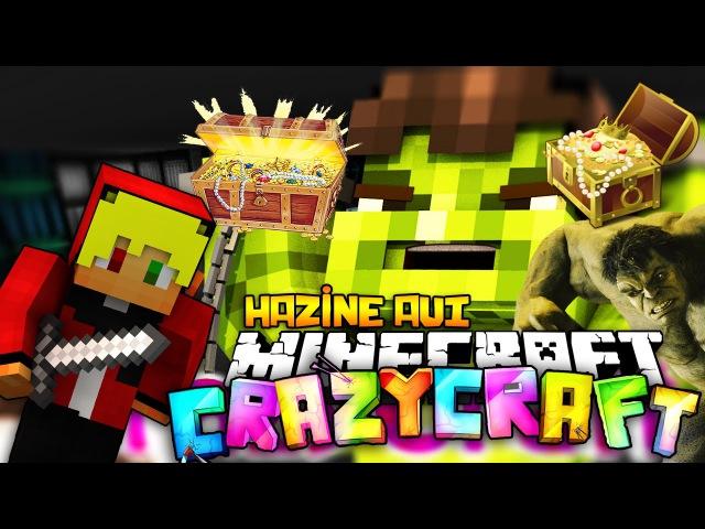 HAZİNE AVINA ÇIKIYORUZ! ve HULK! - Minecraft Crazy Craft S2 [6]