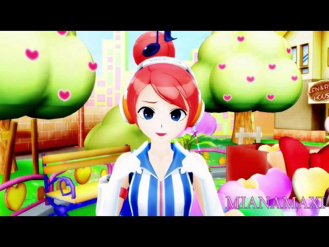 【MMD】Gwiyomi song / 귀요미송【Akikoloid-chan】